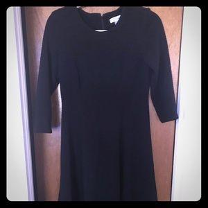 Calvin Klein dress 3/4 sleeve knee length skirt